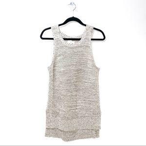 Lou & Grey | Knit Grey Tank Style Blouse